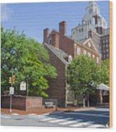 Olde City Tavern  - Philadelphia Pa Wood Print