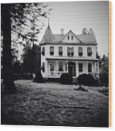 Older Building In Frederick Maryland Wood Print