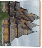 Oldest Church In Norway Wood Print