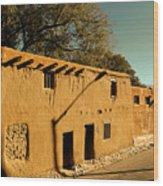 Oldest House In Santa Fe Wood Print