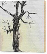 Oldest Tree Wood Print