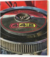 Olds 442 Air Cleaner Wood Print