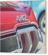 Olds 442 Classic Car Wood Print