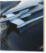 Old's 88 Hood Ornament  Wood Print