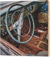 Olds Interior Wood Print