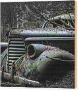 Oldsmobile 3 Wood Print