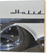 Oldsmobile Holiday Emblem Wood Print