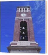 Ole Miss Bell Tower Wood Print
