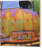 Ole Rusty Full Frontal Wood Print