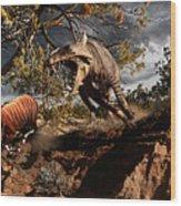 Oligocene mural Wood Print