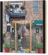 Olive Affairs Restaurant Wood Print