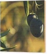 Olives #2 Wood Print