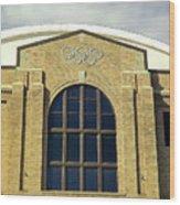 Olympic Center  Wood Print
