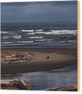 Olympic Peninsula Beach Wood Print
