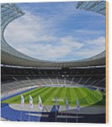 Olympic Stadium Berlin Wood Print