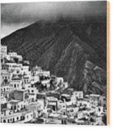 Olympos. Karpathos Island Greece Wood Print