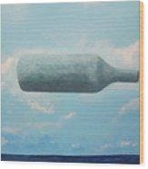 Omaggio A Magritte Wood Print