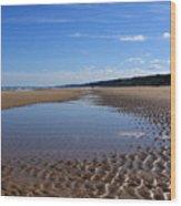 Omaha Beach, Normandy, France. Wood Print