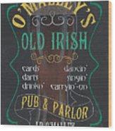 O'malley's Old Irish Pub Wood Print
