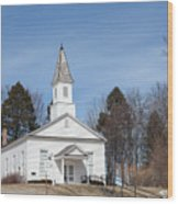 Omena Presbyterian Church Wood Print
