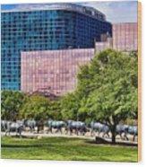 Omni Hotel Dallas Texas Wood Print