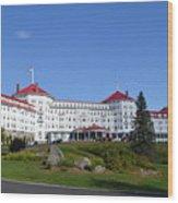 Omni Mount Washington Resort Wood Print