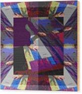 Omnium Plenum Est Wood Print by Eikoni Images