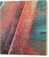 On Edge Wood Print