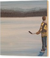 On Frozen Pond - Bobby Wood Print