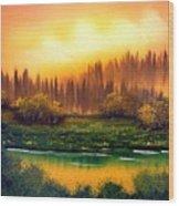 On Golden Pond Wood Print