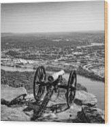 On Guard At Point Park Lookout Mountain In Tennessee Wood Print