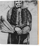 On Kiowa Reservation Wood Print