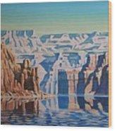 On Lake Powell Wood Print