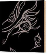 On Looker Wood Print