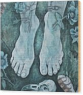 On Sacred Ground Wood Print
