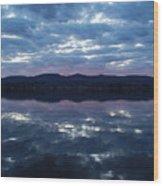 On Still Waters  Wood Print