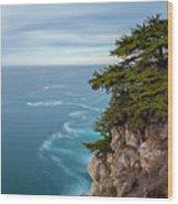 On The Cliff - Horizontal Wood Print