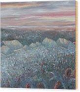 On The Hill At Greyfox Wood Print