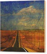 On The Road Again Wood Print