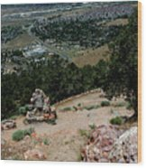 On The Road To Virginia City Nevada 15 Wood Print