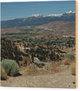 On The Road To Virginia City Nevada 20 Wood Print