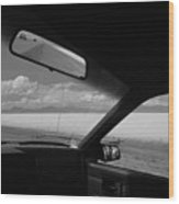 On The Road, Utah Wood Print