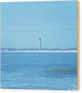 On The Way To Cape May Wood Print