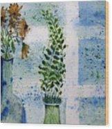 On The Windowledge Wood Print