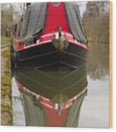 One Eyed Boat Wood Print