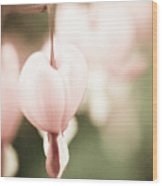 One Heart Wood Print