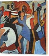 One Last Tango Wood Print