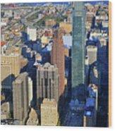 One Logan 1717 Arch Comcast Center Wood Print