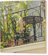 One Morning In New Orleans Wood Print