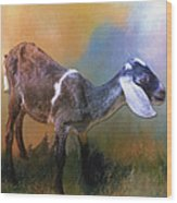One Of God's Creatures Wood Print